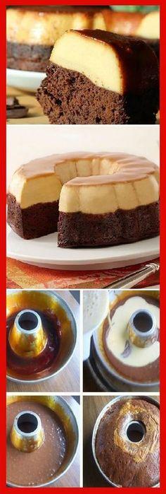 "Cómo preparar chocoflán o ""pastel imposible. #receta #recipe #casero #torta #tartas #pastel #nestlecocina #bizcocho #bizcochuelo #tasty #cocina #cheescake #helados #gelatina #gelato #flan #budin #pudin #flanes #pan #masa #panfrances #panes #panettone #pantone #panetone #navidad #chocolate Si te gusta dinos HOLA y dale a Me Gusta MIREN..."