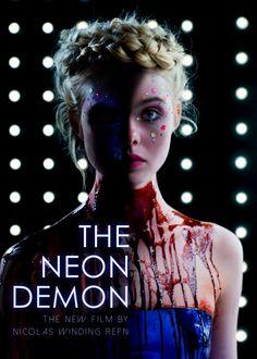 Elle Fanning in The Neon Demon Horror Movie Posters, Movie Poster Art, Film Posters, Horror Movies, Mulholland Drive, Demon Aesthetic, Film Aesthetic, Movie Organization, The Neon Demon