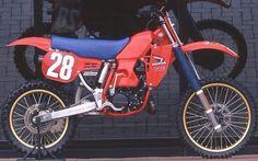 1985ish- Honda Works Bike