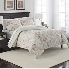 Alcott Hill Rupert 3 Piece Reversible Comforter Set Size: Queen