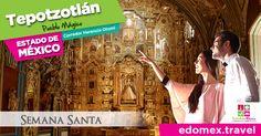 Visita #Tepotzotlán en el Estado de México #LaMaravillaDeTenerloCerca Vía: @EdomexTurismo @bettynabenitez #Vacaciones #SemanaSanta