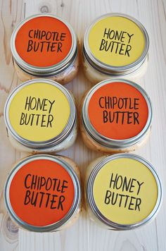 Make flavored butters!