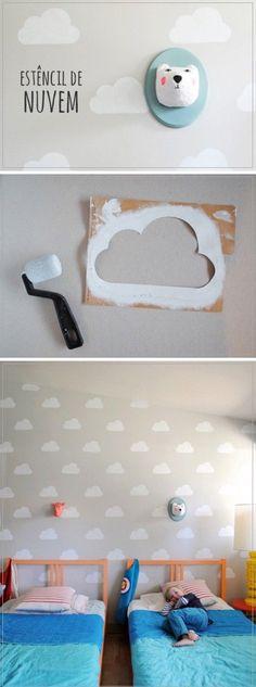 Estêncil de Nuvem