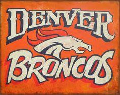 Denver Broncos, football Print