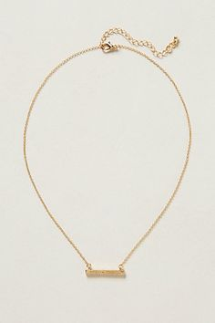 Twig-Swing Necklace  #anthropologie