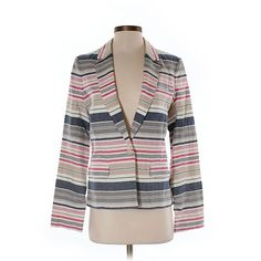 Pre-owned Joie Blazer Size 4: Beige Women's Jackets & Outerwear ($35) ❤ liked on Polyvore featuring outerwear, jackets, blazers, beige, joie jacket, joie, beige blazer, beige jacket and blazer jacket