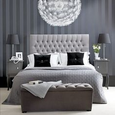 Att välja färg till sovrummet – 19 monokroma sovrum - Sköna hem