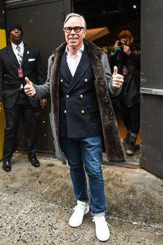 In Manhattan laufen wieder gut gekleidete Männer durch die Straßen. Kein Wunder: Es ist Fashion Week. Wir haben Ihnen die besten Looks herausgesucht zur Inspiration oder zum Nachstylen