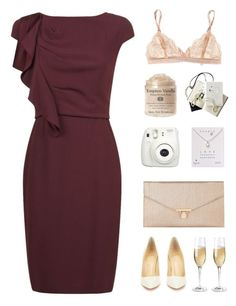 """""""Winter Wedding + Thanks for TS!"""" by hey-its-lexiib ❤ liked on Polyvore featuring MaxMara, Accessorize, Fujifilm, Dogeared, Chanel, STELLA McCARTNEY, Christian Louboutin, Wine Enthusiast, simple and simpleset"""