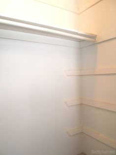 Adding TONS More Storage To The Typical Builder Closet. No More Wasted  Space!
