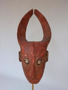 Antique for sale Mama crest mask with african man face Mask Head Sculpture Fine arts architecture