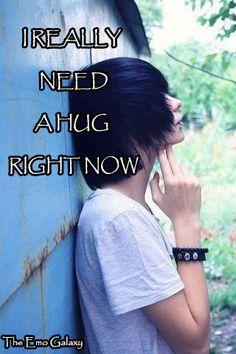 This emo boy need a hug