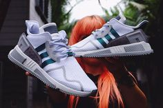 The adidas EQT Cushion ADV is the next modern variation inspired by the original EQT Cushion model. Best Sneakers, Running Sneakers, Shoes Sneakers, Nike Free Shoes, Nike Shoes, Hypebeast, Adidas Originals, Adidas Models, Sneaker Magazine