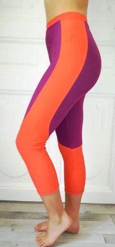 Self drafted sport leggings based on the boyshort drafting method. Sports Leggings, Active Wear, Challenges, Bra, Pants, How To Wear, Fashion, Trouser Pants, Moda