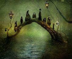 Whimsical artist Alexander Jansson gallery