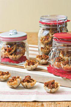 Pecan Pie Recipes: Crunchy Pecan Pie Bites