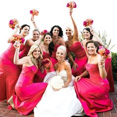 Fabulous pretty in pink at @breakerswedding!! Loving these colors for Florida!! #breakerswedding #thebreakers #thebreakerspalmbeach #palmbeach #igersFL #floridawedding #pretty #pink #gettingmarried #bridesmaids #bridalsquad #wedding #dreamwedding #wedding
