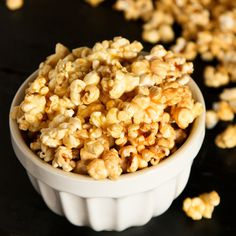 All you need are about 15 minutes, plus a few simple ingredients, a microwave, and a brown paper bag for my Mom's Microwave Caramel Popcorn!