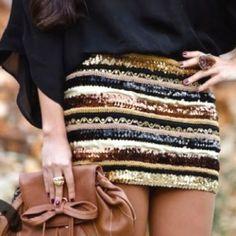 Love that pencil skirt!