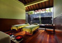 Massage and Spa treatment room