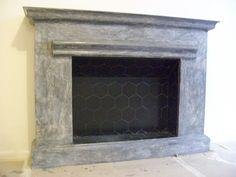 frente hogar simil marmol