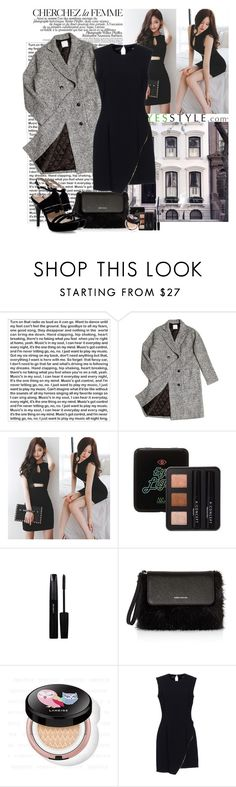 """""""Yesstyle"""" by polybaby ❤ liked on Polyvore featuring beauty, PBteen, La Femme, ssongbyssong, Karen Millen, Lucky Chouette, Elisabetta Franchi and Pastel Pairs"""