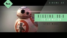 Learn how to rig from Star Wars, covering: - Controls - Dynamics - Xpresso - Targeting - Ray collision Cinema 4d Tutorial, Maxon Cinema 4d, Rigs, Star Wars, Animation, Stars, Learning, Youtube, Bb8