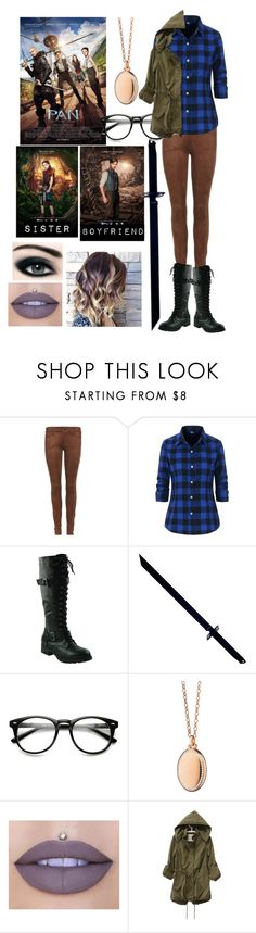 """""""Me in Pan"""" by moon-and-back-babe123 ❤ liked on Polyvore featuring MARA, Mother, Whetstone Cutlery, Monica Rich Kosann and Jeffree Star"""