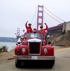 San Francisco Fire Engine Tours