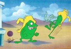 Pancho et Rancho les deux grenouilles les plus crétinos et stupidos de Tijuana