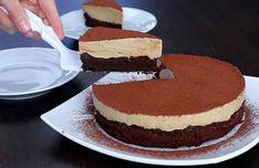 Túto tortu s kávovou penou musíš vyskúšať. Gluten Free Baking, Sin Gluten, Vanilla Cake, Sweet Recipes, Nom Nom, Cheesecake, Brunch, Mousse, Dessert Recipes