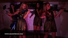 LS Electric Quartet for hire in London - cool act for corporate entertainment, especially dinners and awards ceremonies.