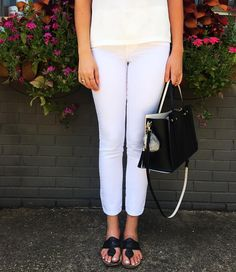 """Transform your closet with our white jeans  Styleblueprint's pick for """"White Jeans that look FAB on EVERYbody!"""""""