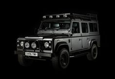 Defender 110 Exterior Grey - West Coast Defender