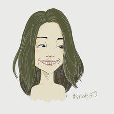 #sticky50 試作その27「ニヤリ女子」髪を軽くするヘアカラー
