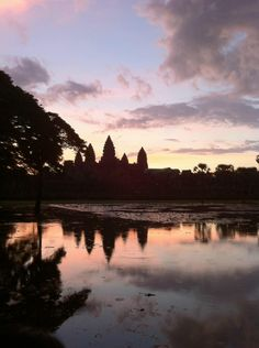 ✅Done this: one of my all time favourite experiences, sunrise at Angkor temples in Cambodia. Sun Worship, Angkor, Temples, Cambodia, Places Ive Been, All About Time, Sunrise, Trail, River