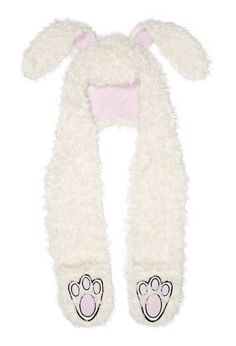 Image for Bunny Beanie Scarf from Peter Alexander