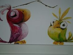 Wand Malerei
