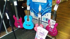 Awesome Daisy Rock guitars!