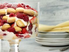 Lemon Tiramisu Trifle: Creamy, lemony layers are brightened by berries in this no-bake cross between tiramisu and trifle. Kids can assemble this treat with very little help.