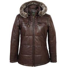 Nina : Hooded Brown Leather Jacket  https://www.hidepark.co.uk/ladies-jackets-and-coats/168-nina-hooded-leather-jacket