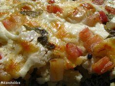 Mézeskalács konyha: Almás-füstölt sajtos rakott csirkemell Lasagna, Ethnic Recipes, Food, Lasagne, Essen, Yemek, Meals