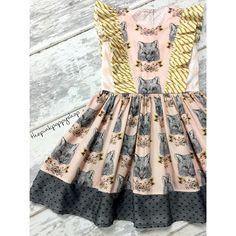 """Foxy Loxy. ✨ #comingsoon #thepinkpoppyshop #handmade #handmadeisbetter #qualityhandmade #makersvillage #artgalleryfabrics #hawthornethreads #foxdress…"""