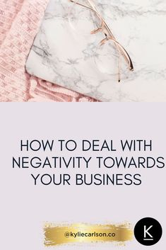 Dealing with Negative Comments