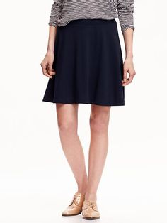 Ponte-Knit Circle Skirt Product Image