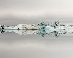 Winter Landscape Photography Iceberg Art by EyePoetryPhotography