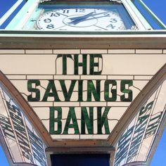 The savings bank #typography #mosaic #wakefield