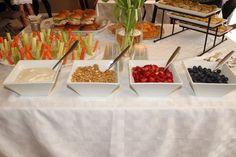 Yogurt parfait bar, maybe a build your own sandwich bar and a salad bar?? @88beautymarked
