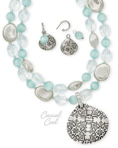 Casual Cool by #PremierDesigns #pdstyle #pdnecklace #casualcoolnecklace
