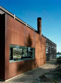 pictures of rusted steel house exteriors - Google Search